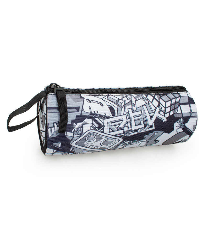Delbag  Pencil Case Round  Robot Trash