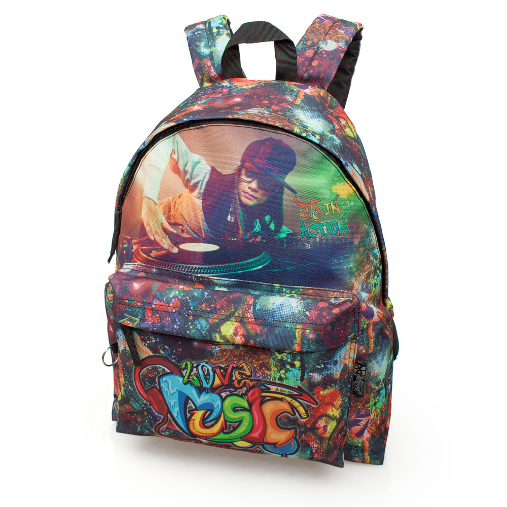 Delbag Backpack  DJ Graffiti – image 1