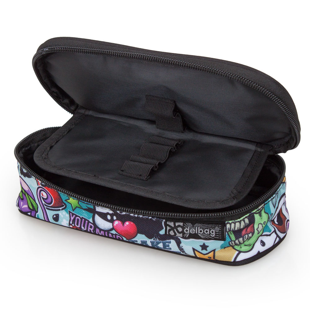 Delbag Pencil Case Oval  Octopus – image 3