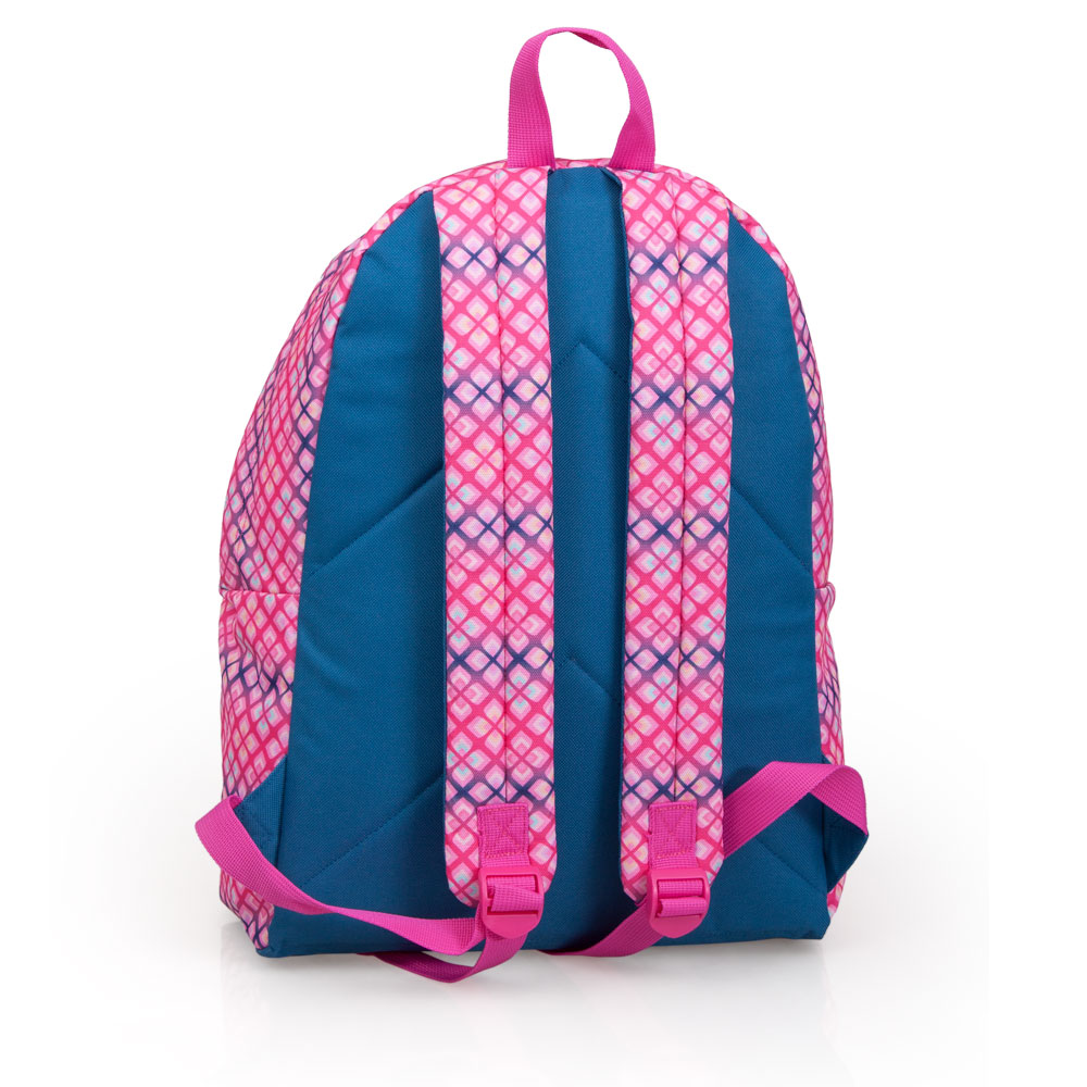 Delbag  Pink Backpack  Faces Lip Bite – image 2