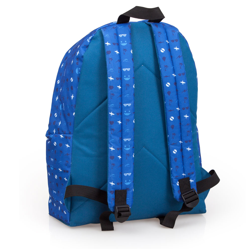Mochila Azul Delbag Faces Tongue Out – image 2