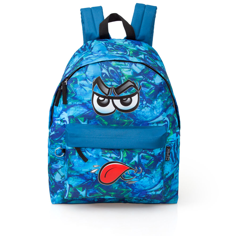 Eastwick Blue Backpack  Faces Booh