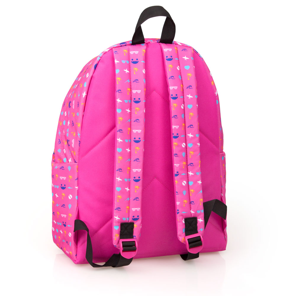 Eastwick Pink Backpack  Faces Smile Cat – image 2