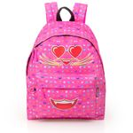 Eastwick Pink Backpack  Faces Smile Cat 001