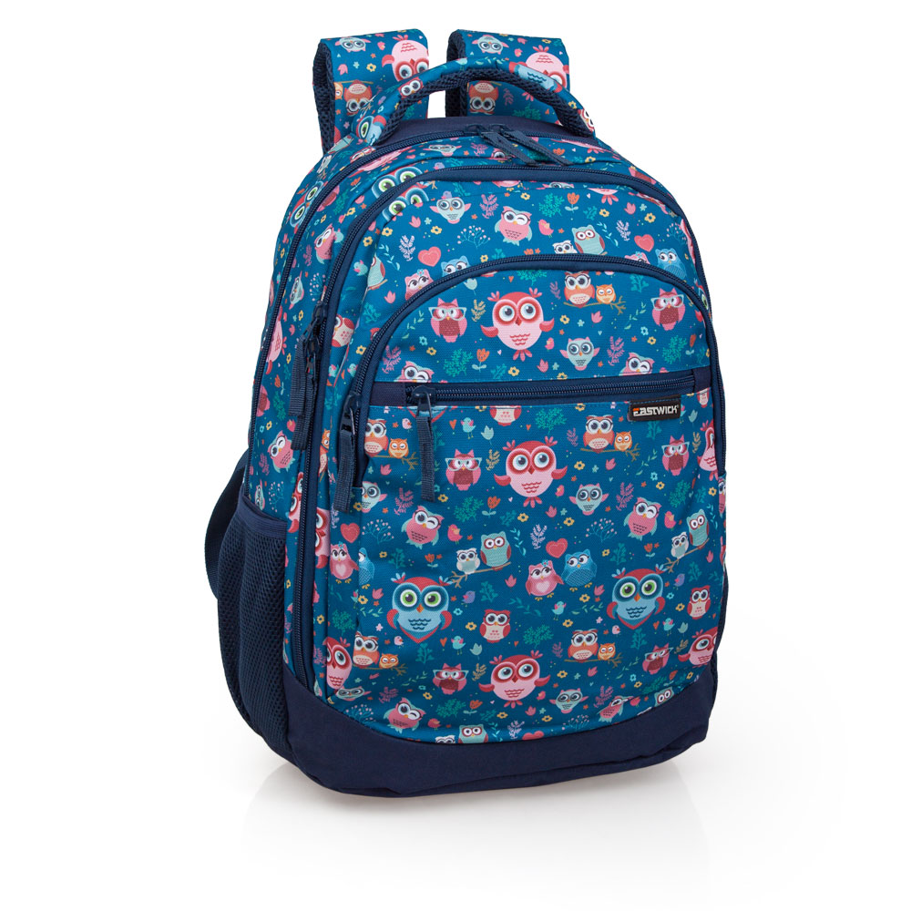 Mochila Tripla Laptop Premium Eastwick Little Owls – image 1