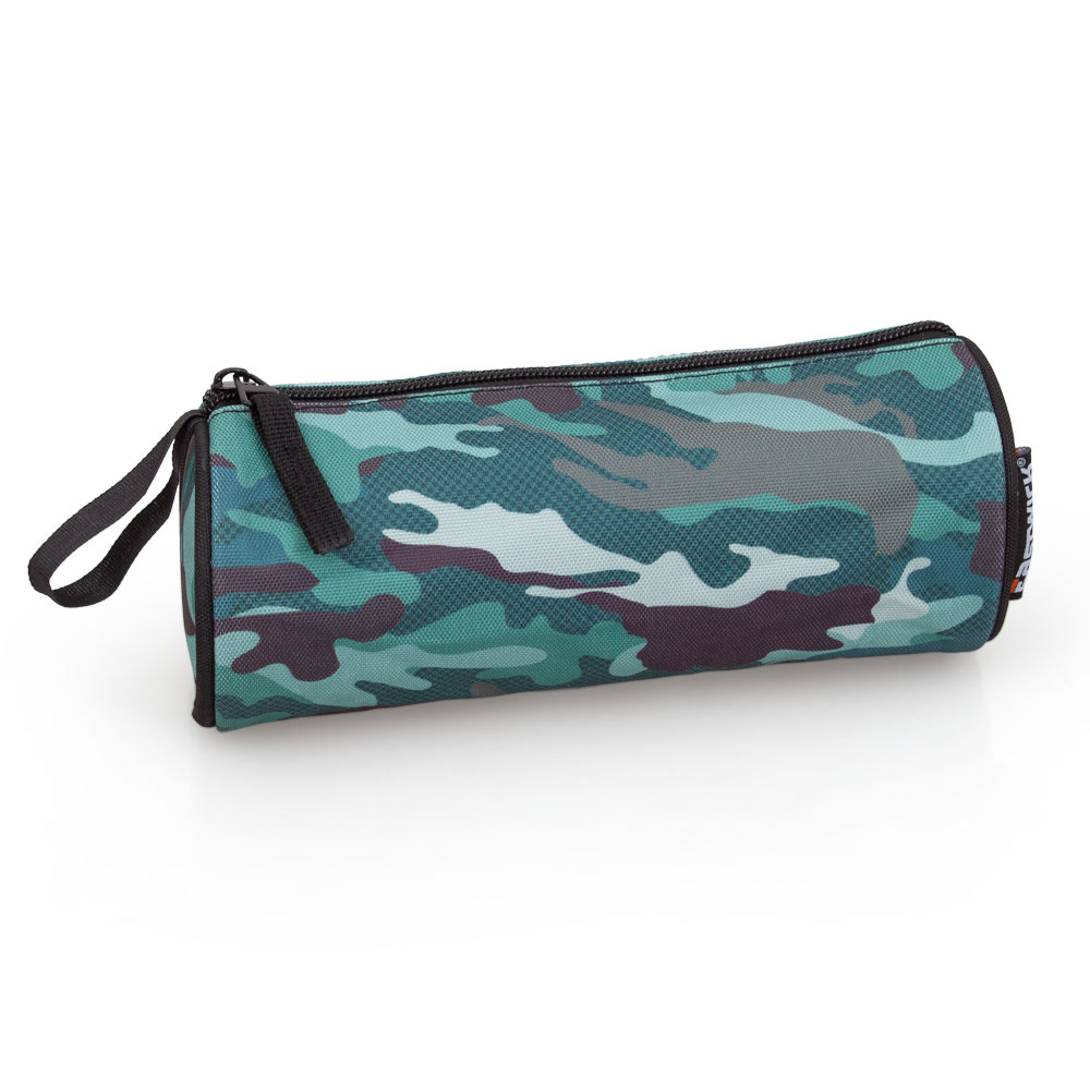 Eastwick Pencil Case Round  Military Camouflage