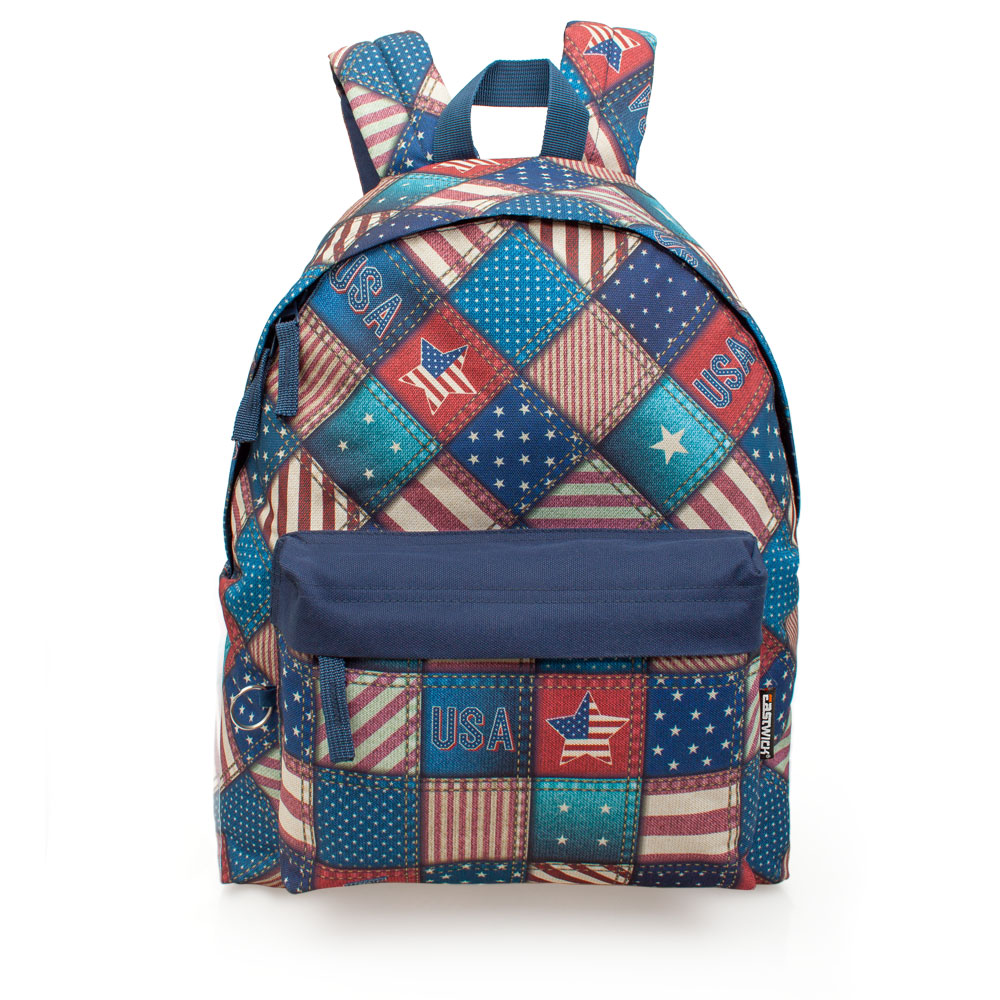 Eastwick Backpack  USA Squares – image 1