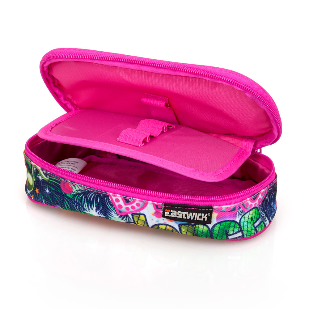 Eastwick Pencil Case Oval  Pink Disco – image 3
