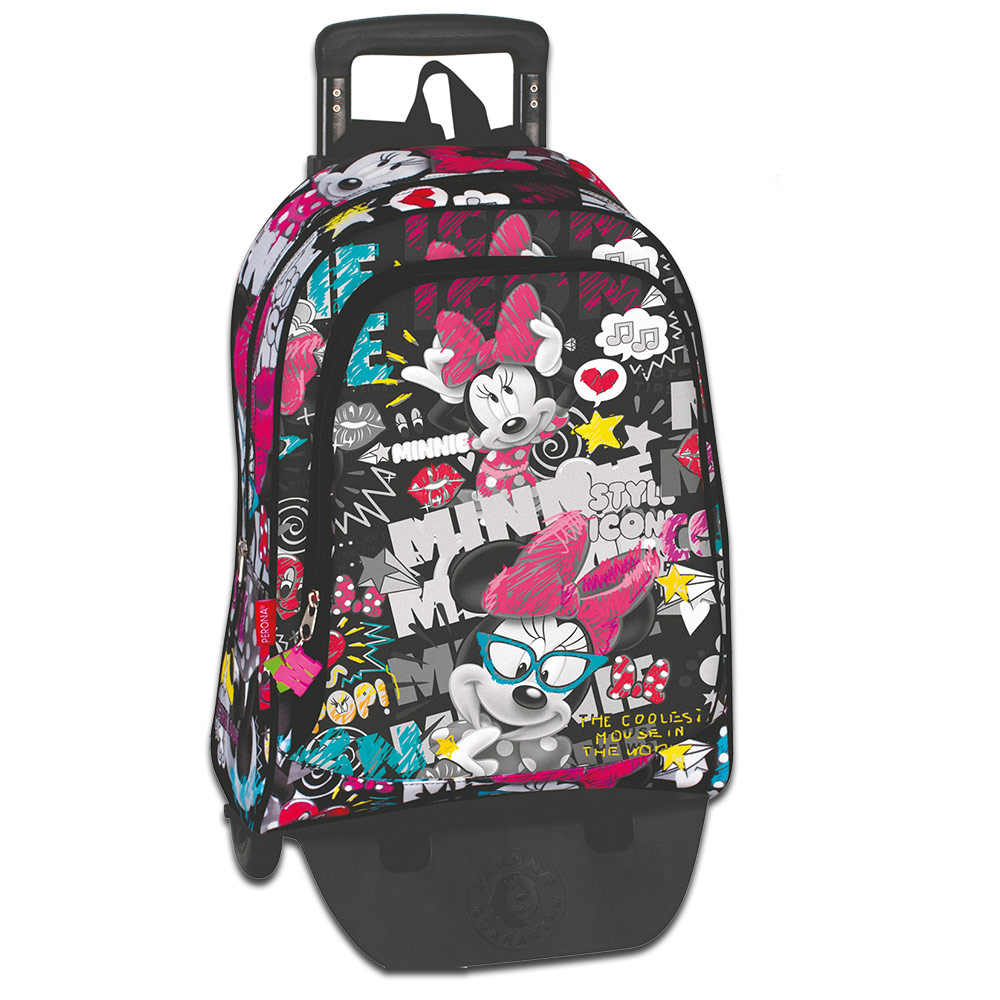 Minnie Mouse JOURNAL Large Backpack W/ Trolley