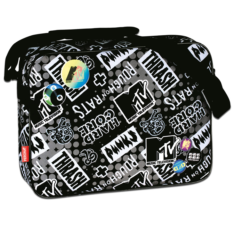 Shoulder Messenger Bag MTV TRASH