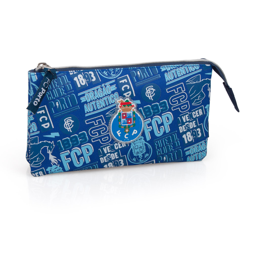 FC Porto Official Triple Pencil Case