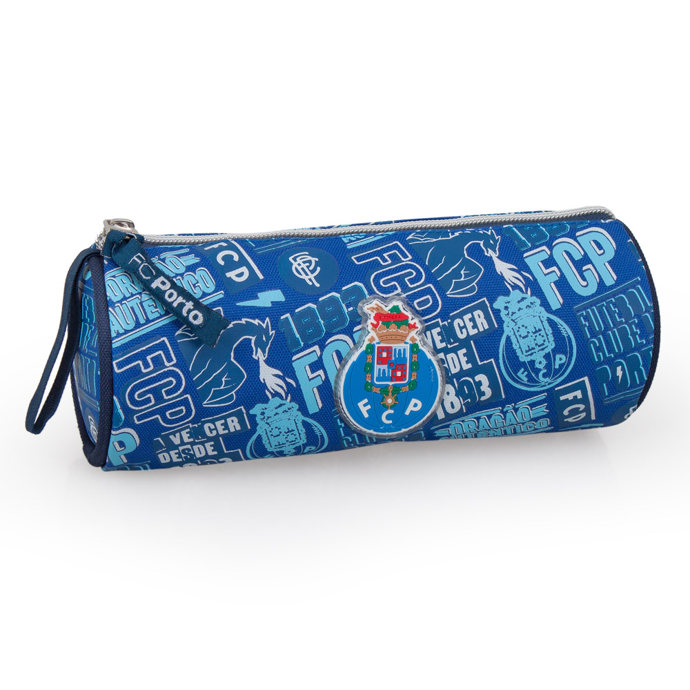 FC Porto Official Barrel Pencil Case