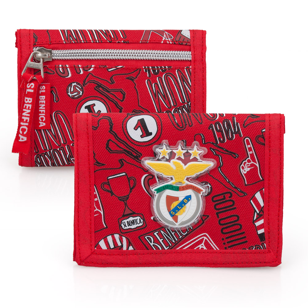Benfica SLB Official Mens Wallet