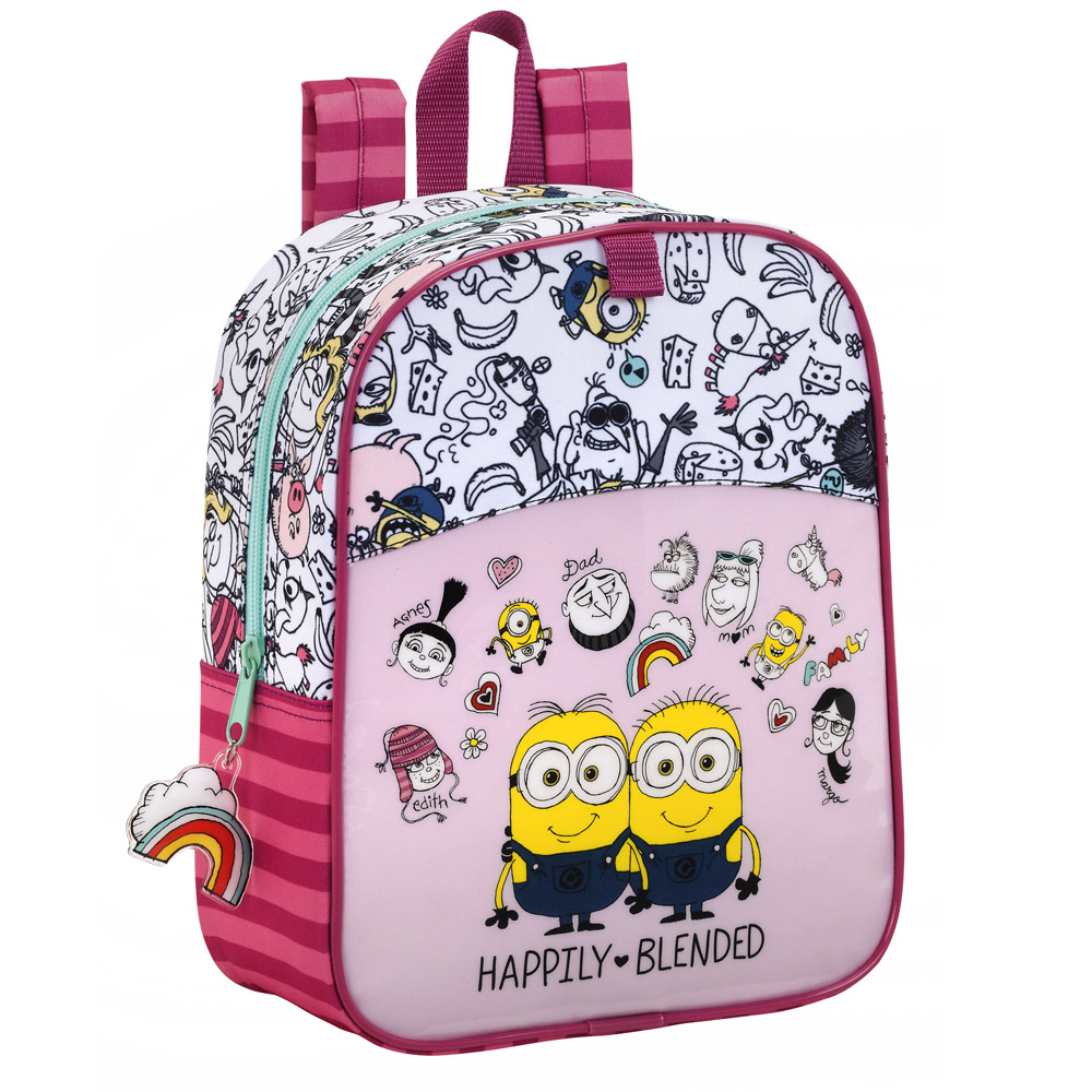 Minions Girls Junior Backpack Family