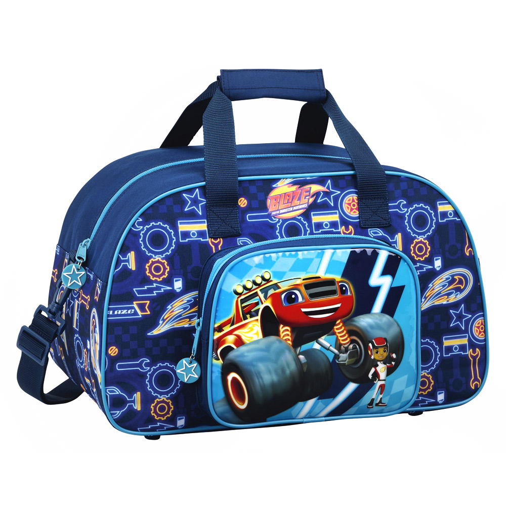 Blaze and The Monster Machines Duffel Sport Bag SF – image 1