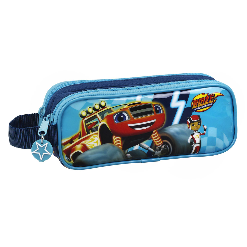 Blaze and The Monster Machines Double Pencil Case – image 1