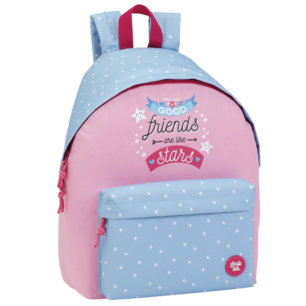 Glowlab Pink Large backpack