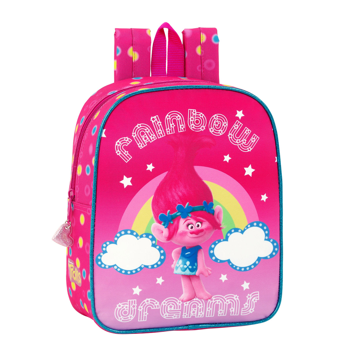 Trolls Junior Backpack Rainbow