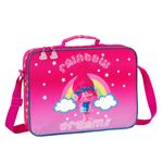 Trolls Briefcase Messenger Bag Rainbow 001