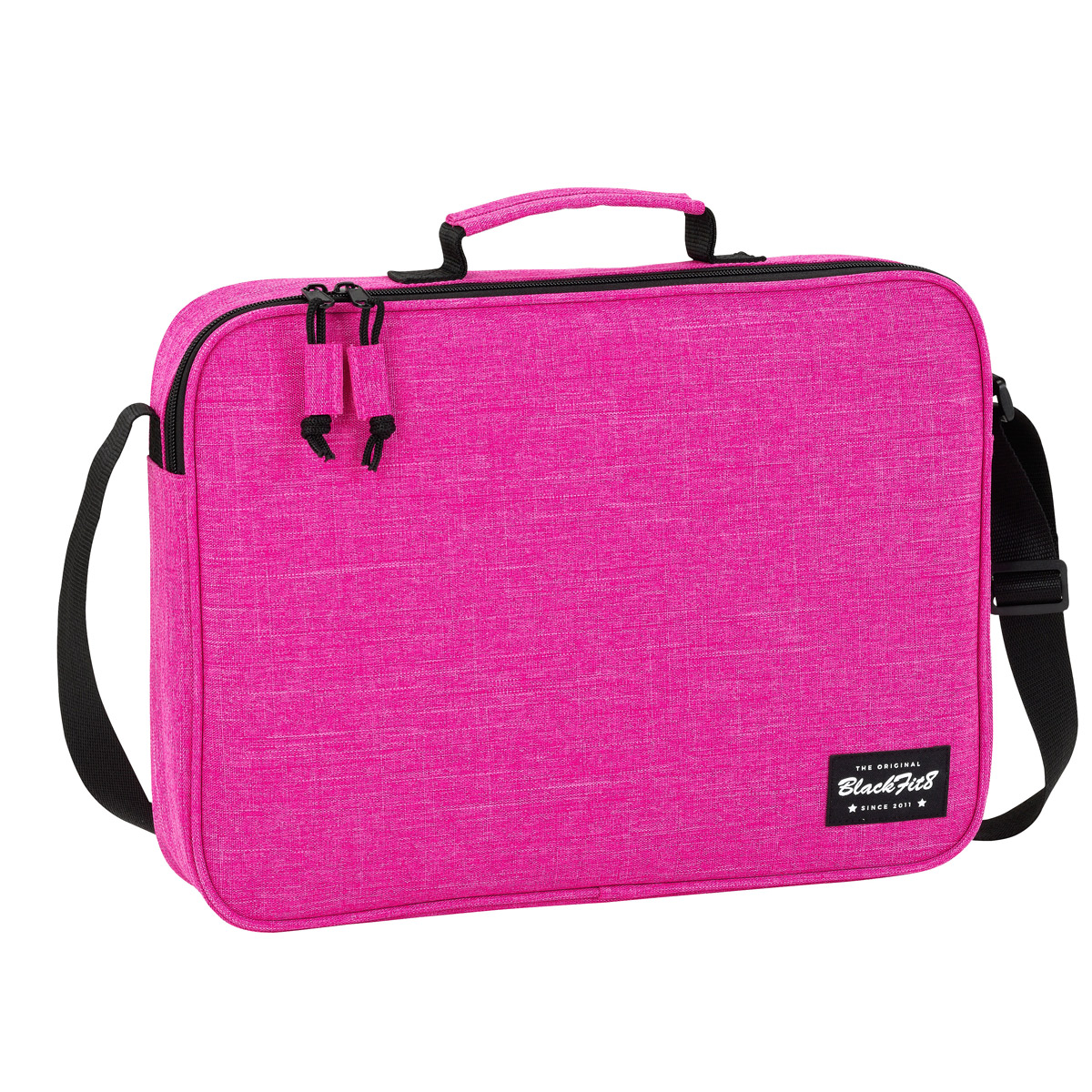 Blackfit8 Pink Messenger Bag – image 1