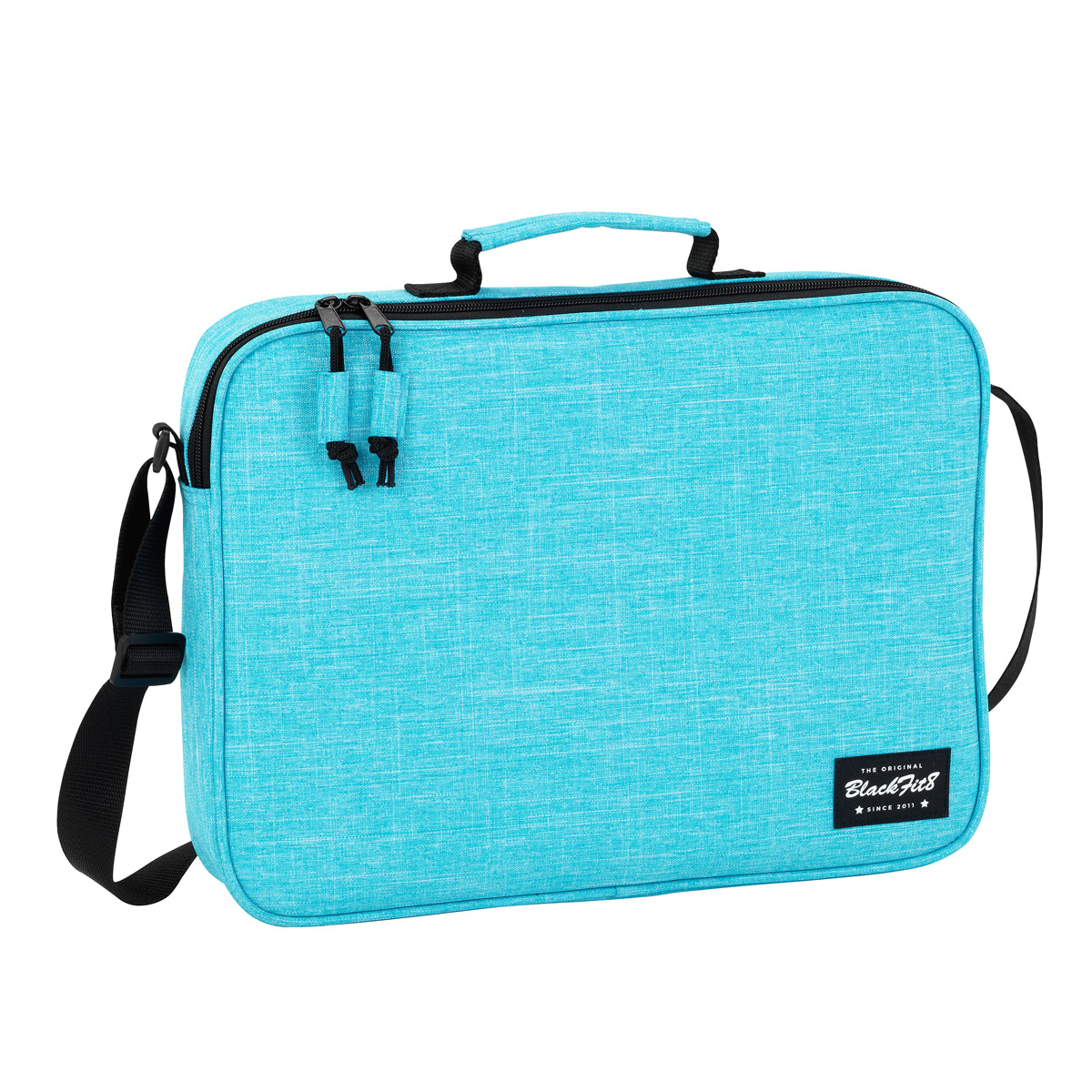 Blackfit8 Ocean Blue Messenger Bag – image 1