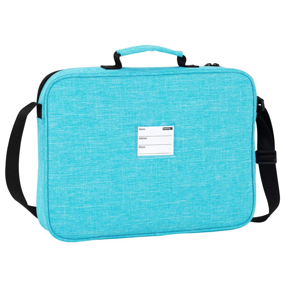 Blackfit8 Ocean Blue Messenger Bag – image 2