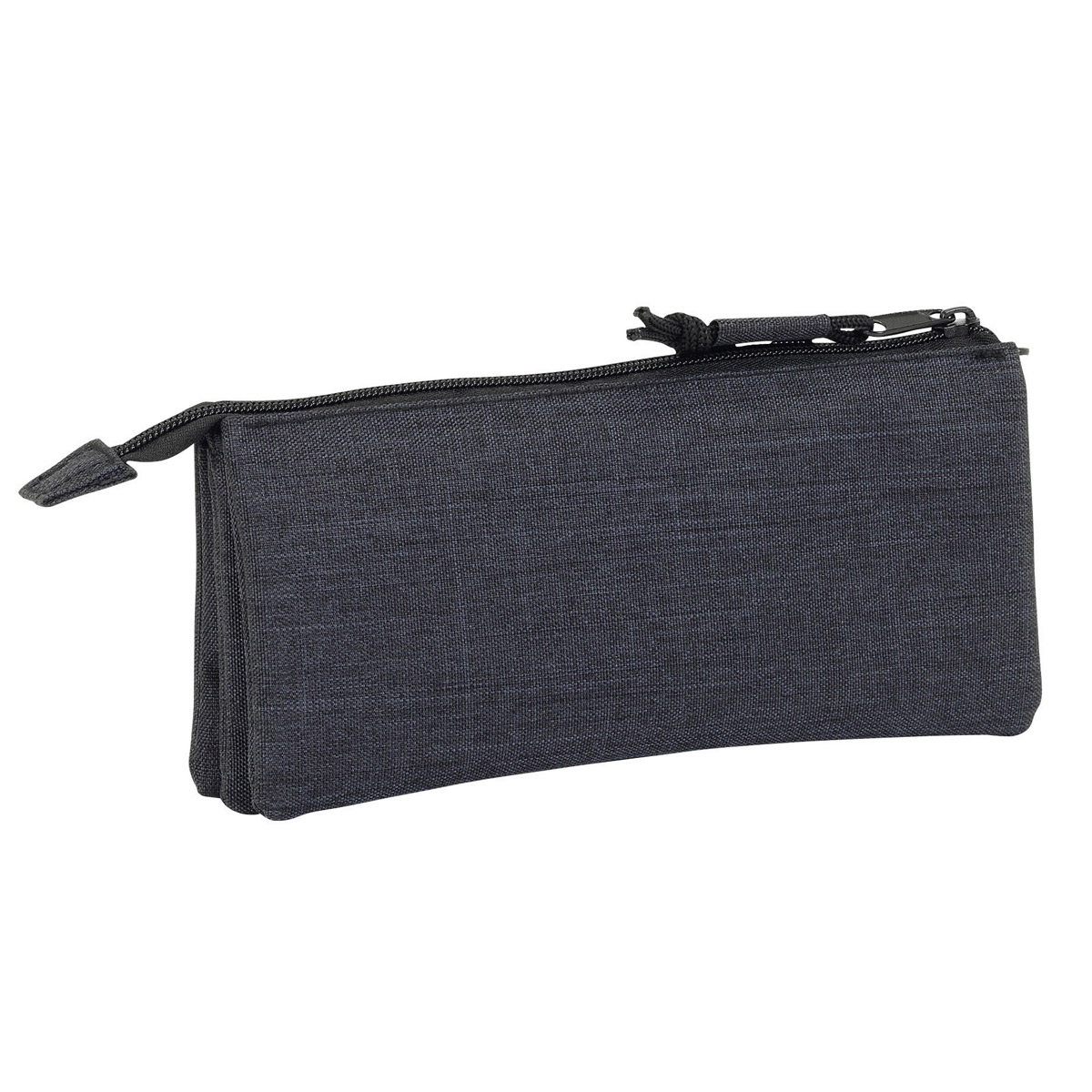 Blackfit8 Triple Pencil Case Black – image 2