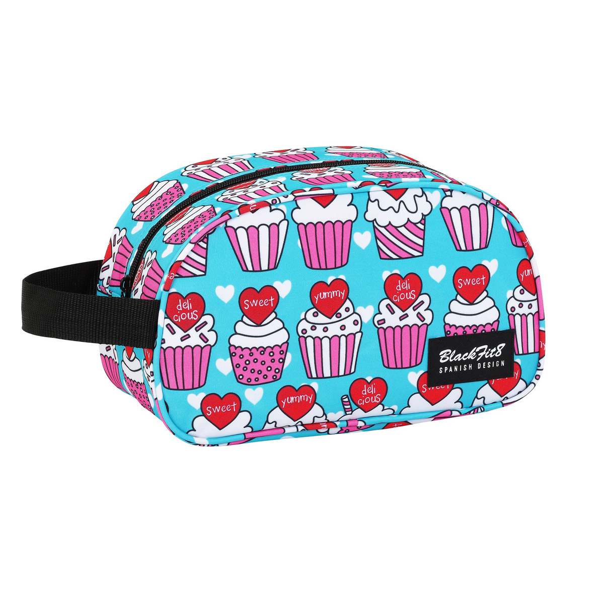 Blackfit8 Yummy Cupcake Wash Travel Bag