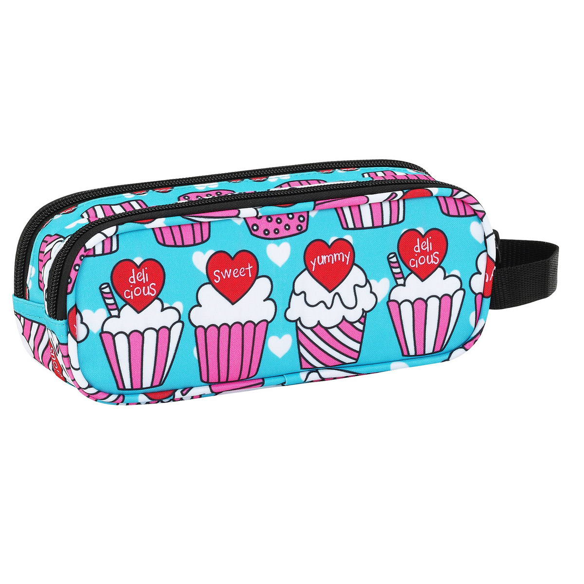 Blackfit8 Yummy Cupcake Double Pencil Case – image 2