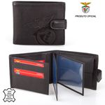 Leather Wallet Tab S.L. BENFICA Black 001