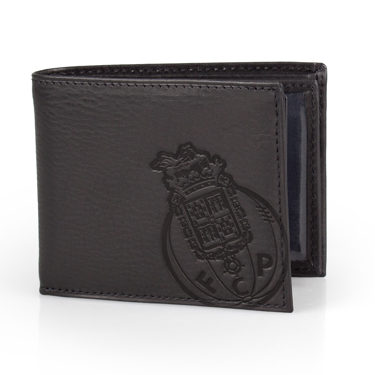 Leather Wallet F.C. PORTO Black 11.5cm – image 2