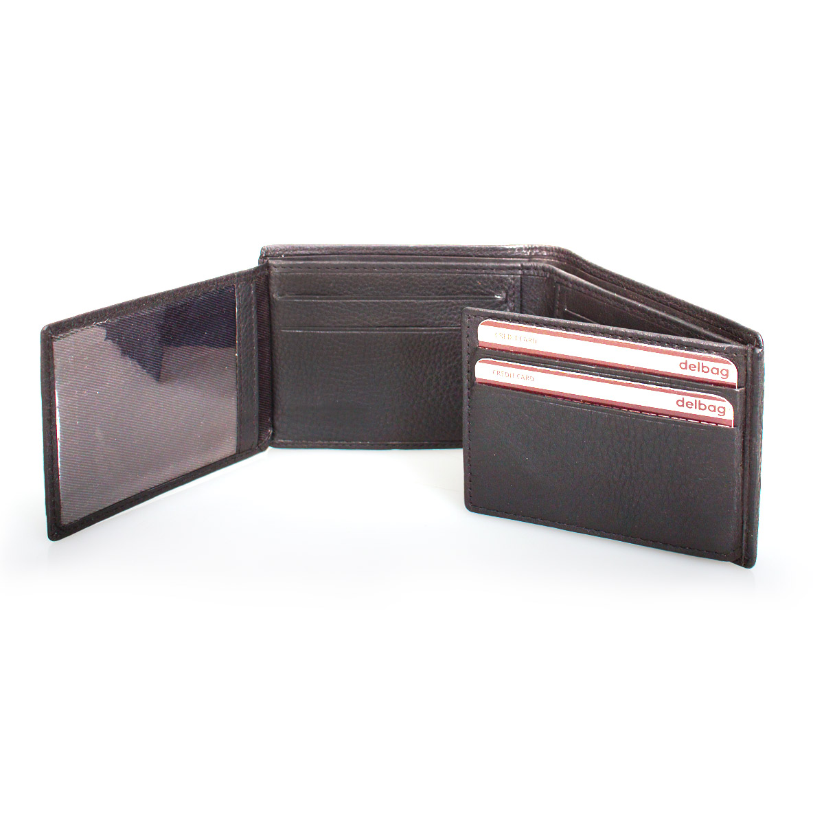 Delbag Card Holder Wallet BROWN – image 2