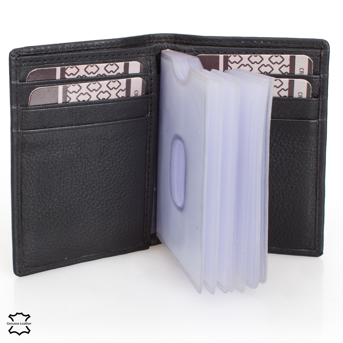 Delbag Card Holder Wallet BLACK – image 3