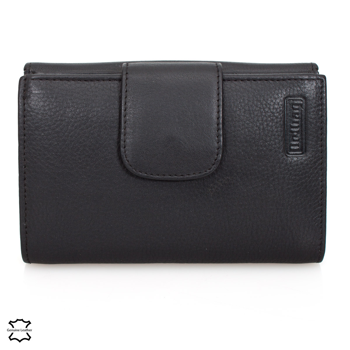 DELBAG Womens Leather Wallet 14cm Black – image 2
