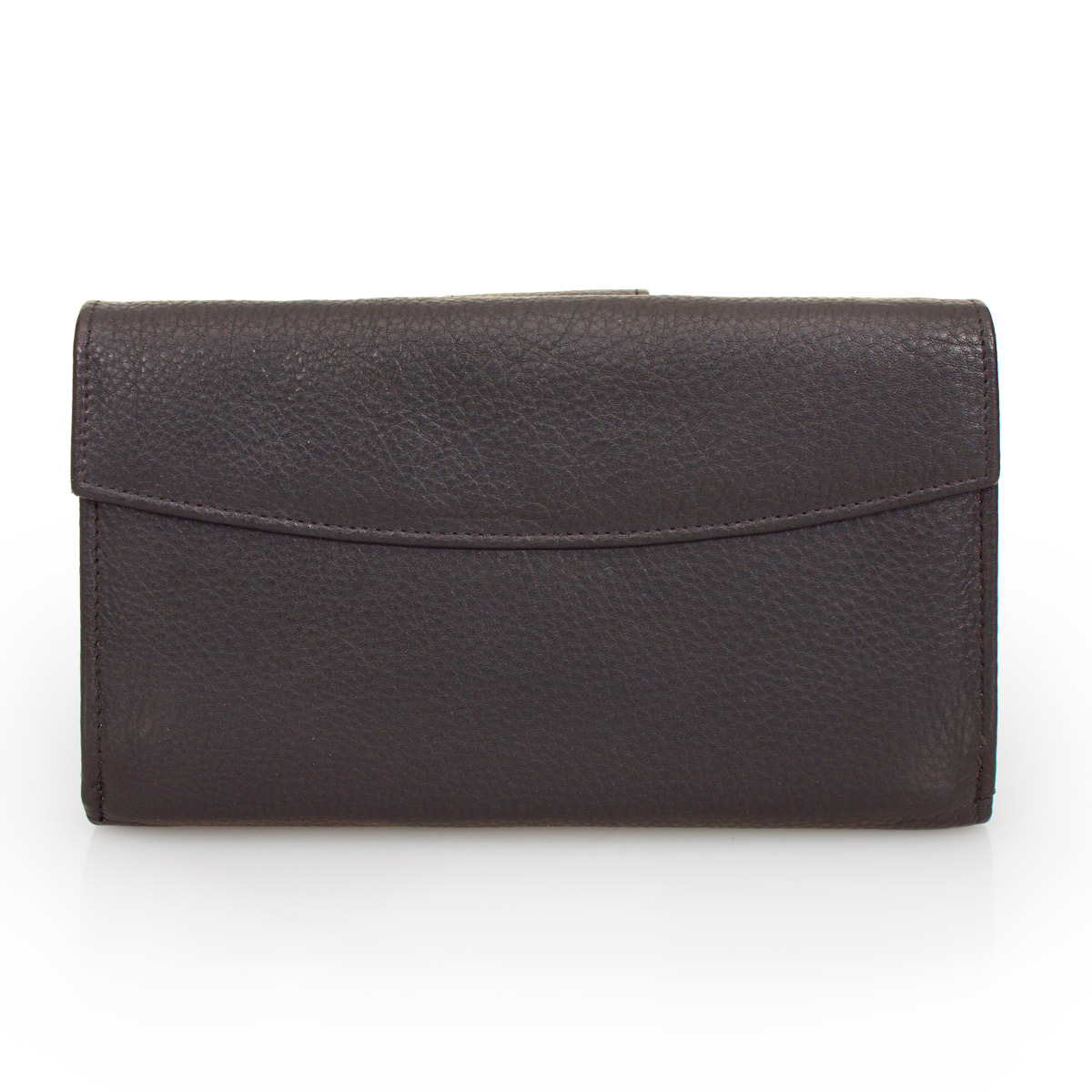 DELBAG Womens Leather Wallet Large Brown – image 3