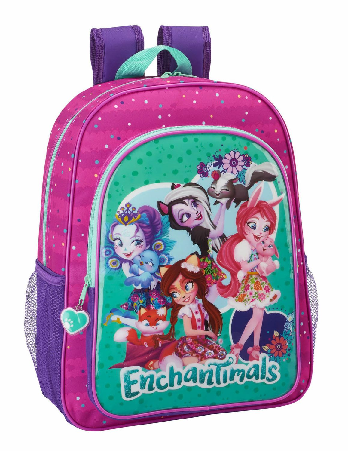 Mochila Grande Enchantimals 42cm