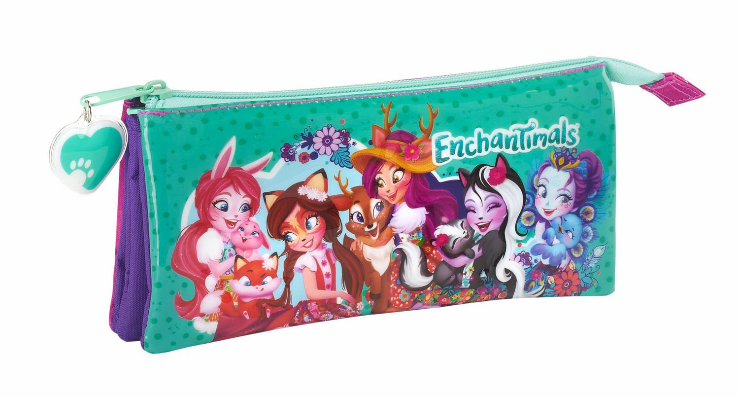 Estojo Triplo Enchantimals – image 1