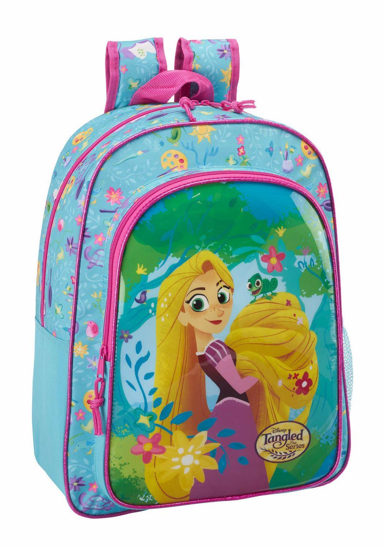 Mochila Grande Disney Rapunzel 42cm – image 1