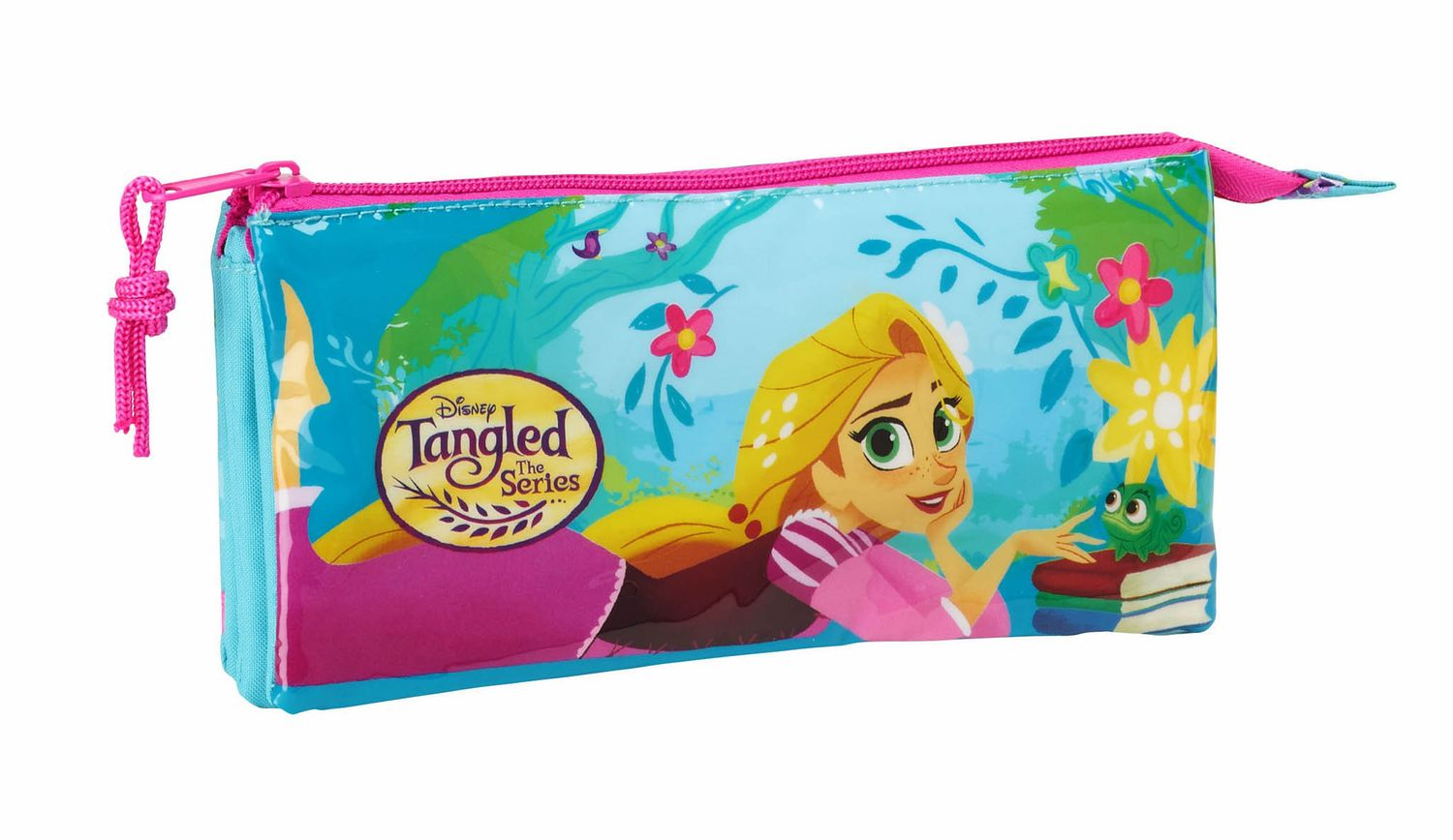 Disney Tangled Triple Pencil Case