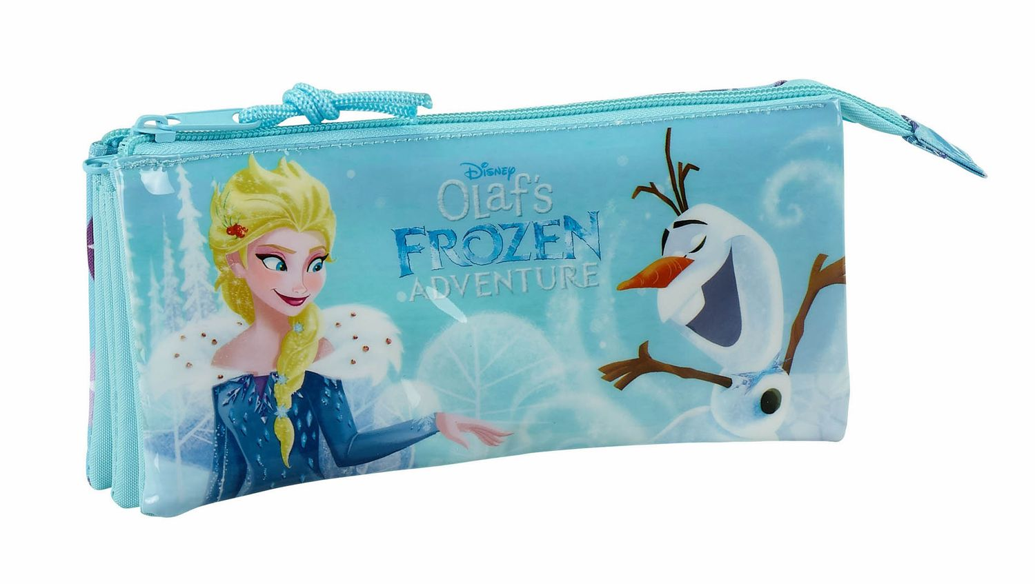 "Estojo Triplo Disney Frozen ""Adventure"" – image 1"