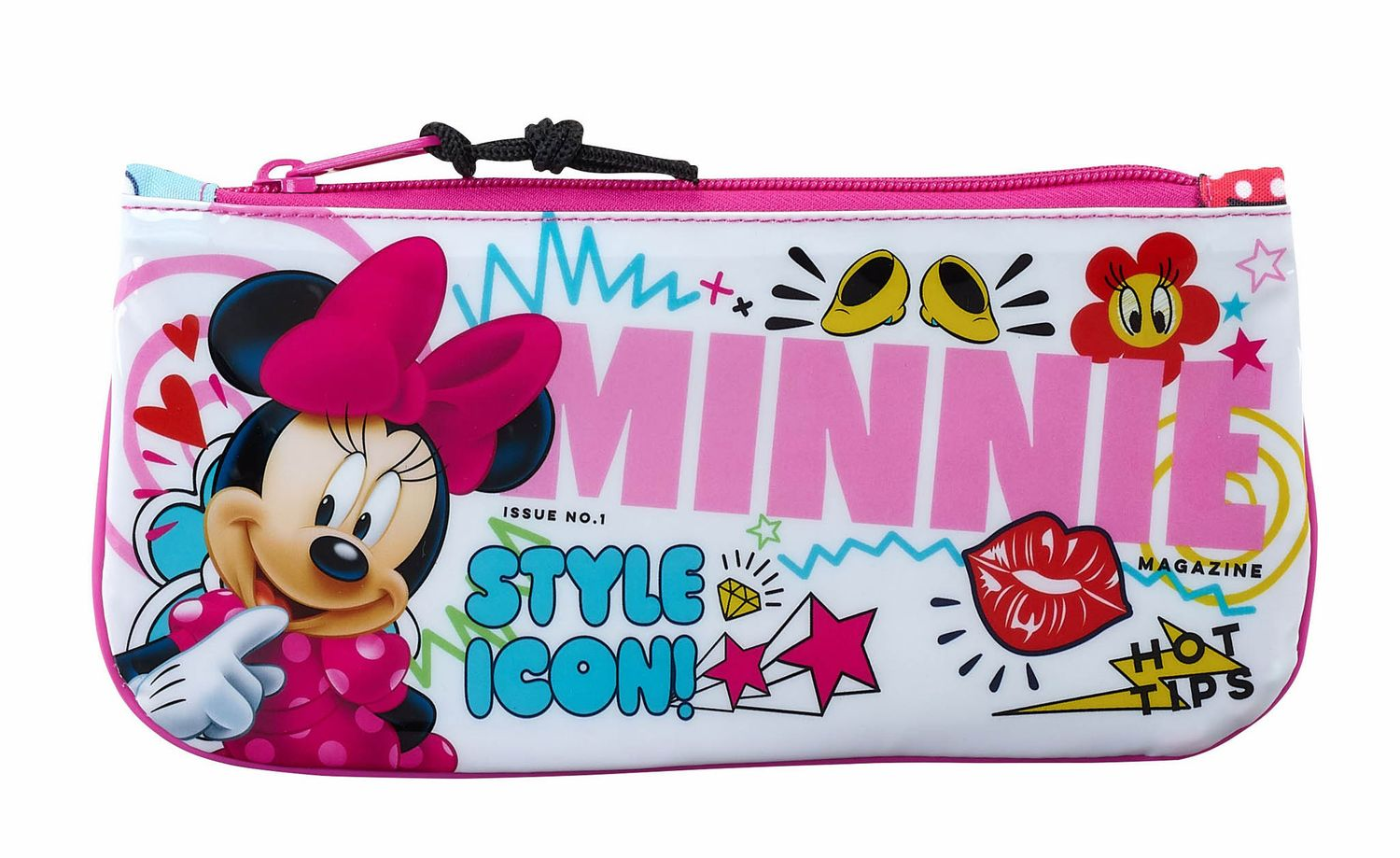 "Estojo de 1 compartimento Minnie Mouse ""Cool"""