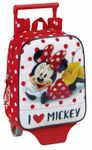 Minnie Mouse HEARTS Junior Backpack With Wheels 001