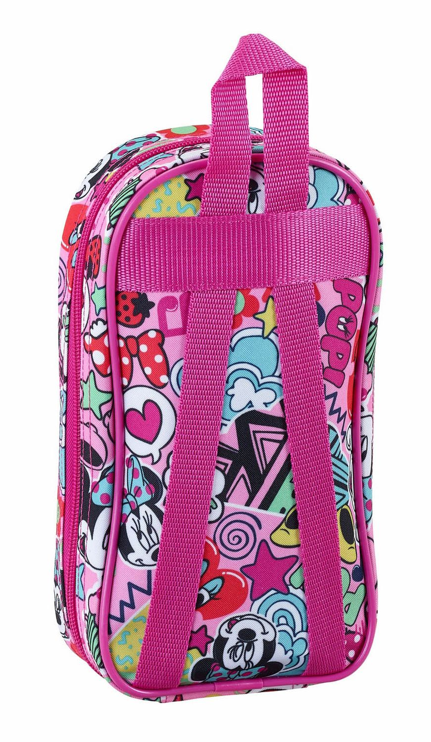 "Minnie Mouse ""Cool"" 2 in 1 Pencil Case Backpack with 4 Empty Pencil Cases  – image 2"