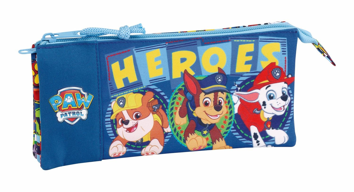 "Paw Patrol ""Heroes"" Triple Pencil Case  – image 1"