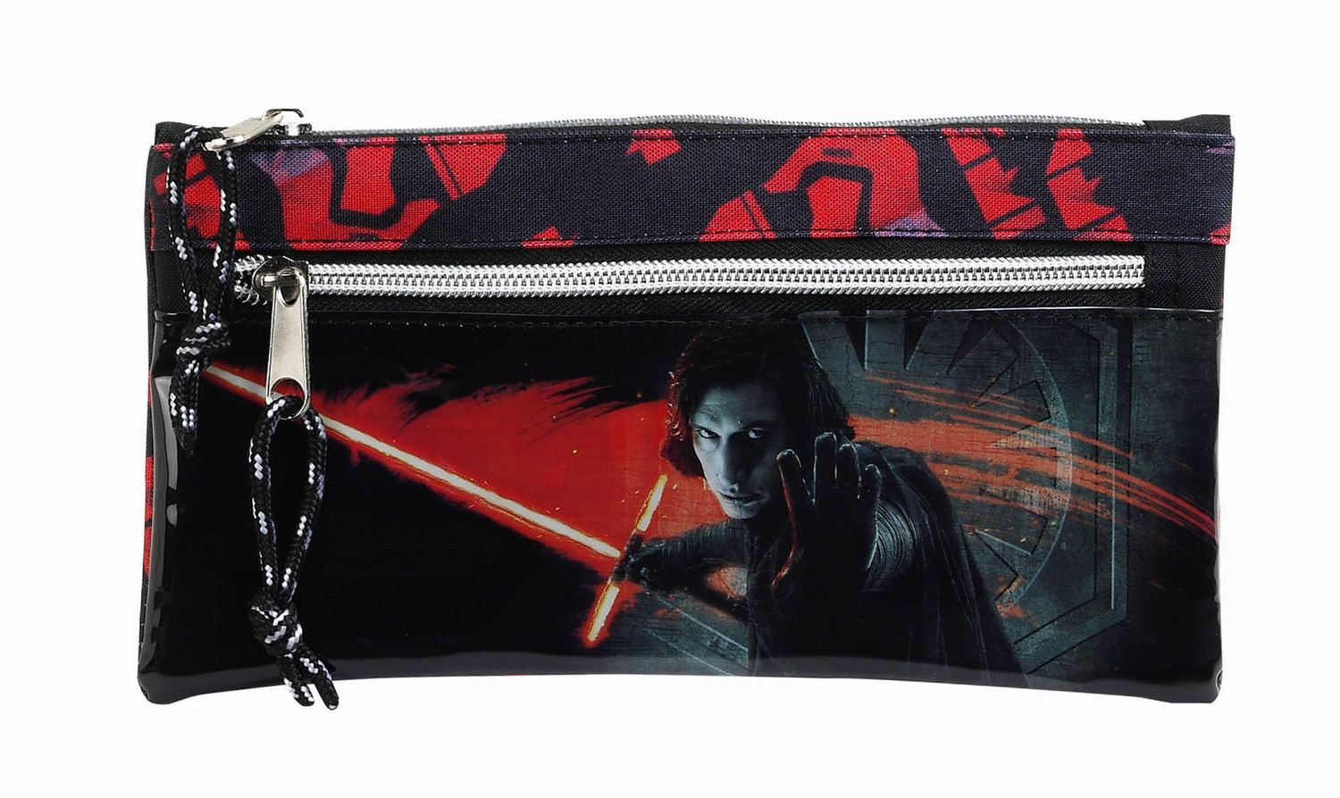 "Star Wars VIII ""The Last Jedi"" Pencil Case with two zippers"