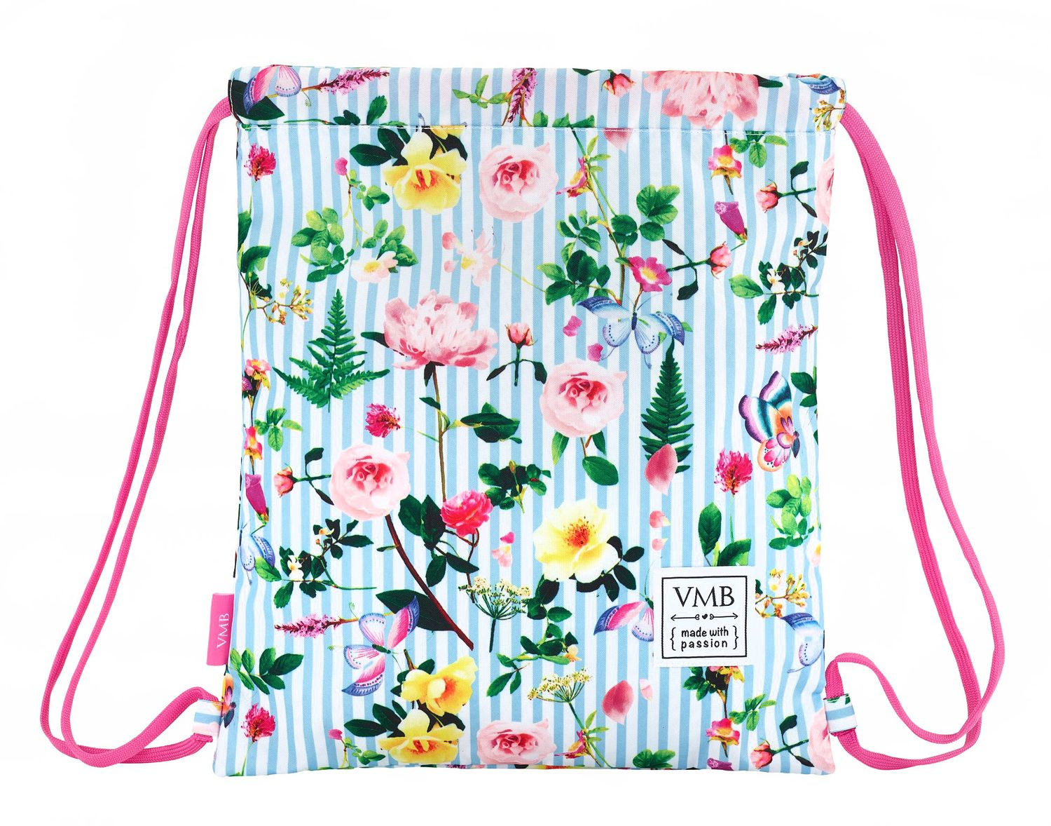 "VICKY MARTIN BERROCAL ""GARDEN"" Drawstring Gym Bag 40 cm"