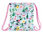 "VICKY MARTIN BERROCAL ""GARDEN"" Drawstring Gym Bag 40 cm  001"