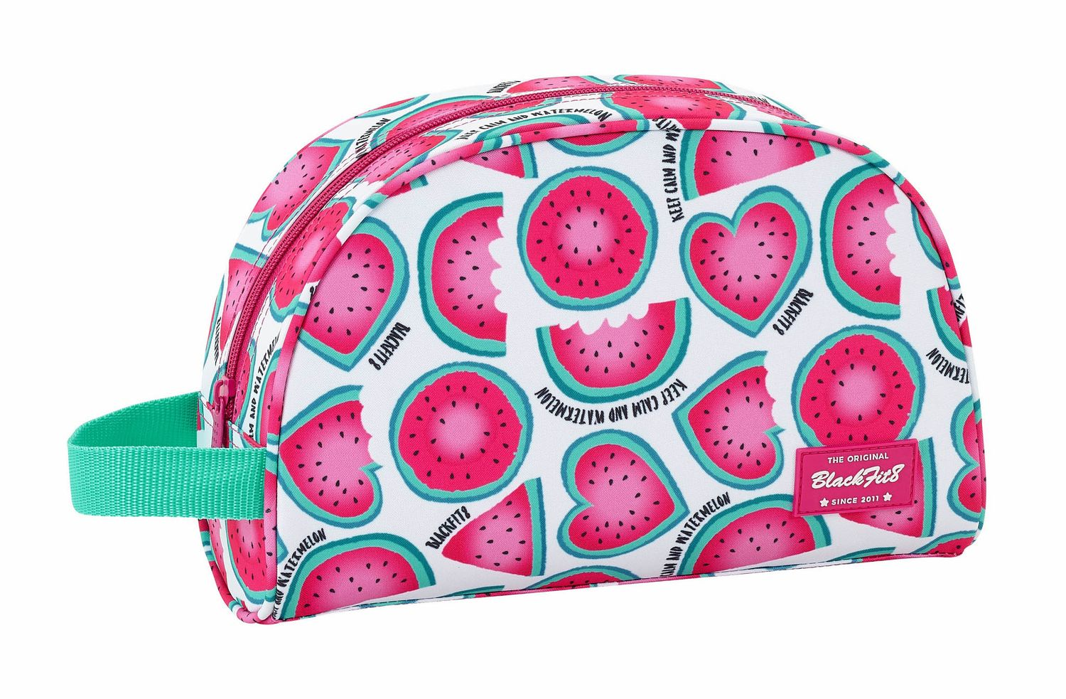 "BLACKFIT8 ""WATERMELON"" Vanity Beauty Case 28 cm"