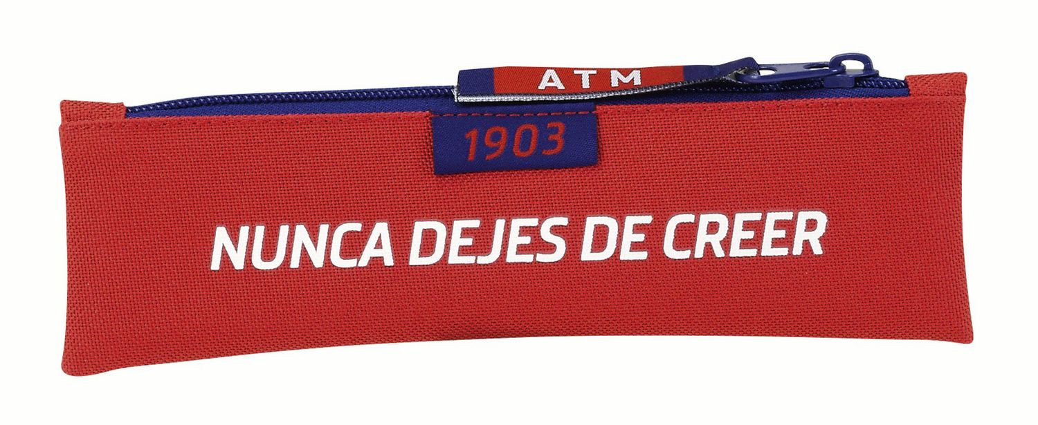 OFFICIAL Atletico de Madrid Mini Pencil Case Stripes – image 2