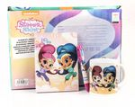 Shimmer and Shine 3 Piece Set Diary + Multi Colour Pen + Mug 001